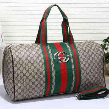 shosouvenir:Gucci Women Leather Shoulder Bag Satchel Tote Handbag