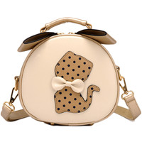 MultiColor Bow Cat Crossbody Bag