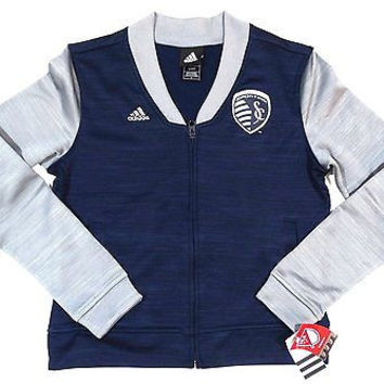 Sporting Kansas City ADIDAS Full Front Zip Jacket Ladies Size S