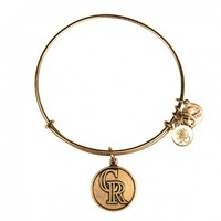Colorado Rockies™ Cap Logo Charm Bangle