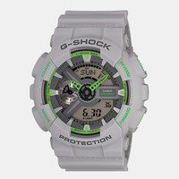 Casio G-Shock Ga 110ts 8a3er Watch - Grey/green at Urban Industry