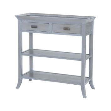 7011-311 Tamara Console Table In Gravesend Grey - Free Shipping!