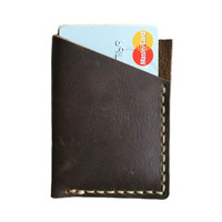 William Rogue Leather Card Wallet