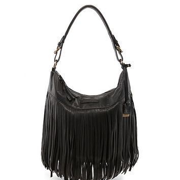 Frye Heidi Fringe Hobo Bag | Dillards