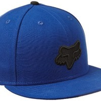Fox Men's Tune Up New Era Hat, Blue, 7.5