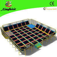 Source huge indoor trampolines with ball pool,foam pit on m.alibaba.com