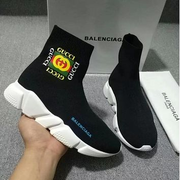 Balenciaga Gucci Socks Shoes-1