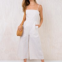 Road To Panama Tie Back Jumpsuit