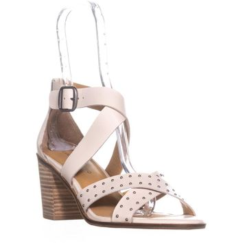 Lucky Brand Kesey Buckle Strappy Sandals, Sandshell, 10 US / 40 EU
