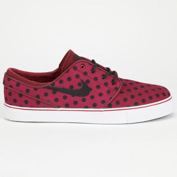Nike Sb Zoom Stefan Janoski Canvas Premium Mens Shoes Red  In Sizes