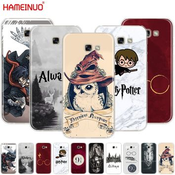 HAMEINUO Harry Potter always Style cell phone case cover for Samsung Galaxy A3 A310 A5 A510 A7 A8 A9 2016 2017 2018