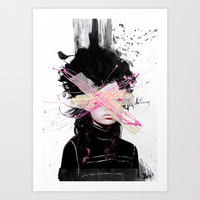 nothing at all.... Art Print by LouiJoverArt