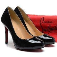 CL Christian Louboutin Fashion Heels Shoes-27