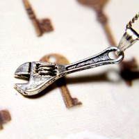 Wrench It Necklace
