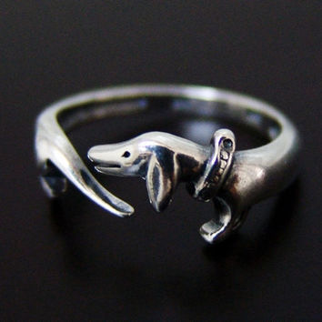Dachshund Exclusive Ring