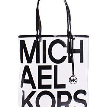 09aa770ba6e503 Michael Michael Kors Hayley Clear Large North South Tote Bag in