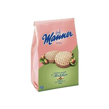 Manner - Hazelnut Tartlets, 14 oz (400 g)