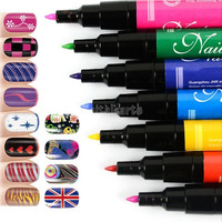 1pcs 2014 Hot-Selling Design Pro Nail Art Pen Painting Paint Drawing Pen Nail Tools Manicures beautiful 18969 = 1712758916
