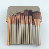 12pcs NAKED 3 URBAN Makeup Power Brush