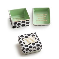 Beauty Begins The Moment You Decide To Be Yourself Porcelain Dish in Gift Packaging