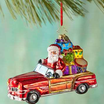 Vintage Ride Christmas Ornament - Christopher Radko