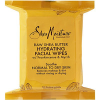 Raw Shea Butter Hydrating Cleansing Facial Wipes
