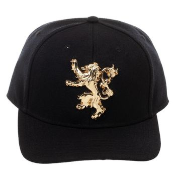 Game of Thrones Lannister Badge Hat