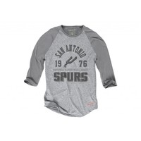 Team Established Raglan San Antonio Spurs - Mitchell & Ness