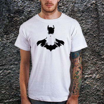Batman The Dark Night T-shirt. Birthday Gift. New Dad Shirt, Cotton, Various Color Available