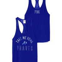 Atlanta Braves Lace Racerback Tank - PINK - Victoria's Secret
