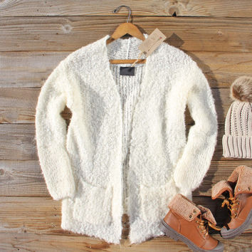 Moonlit Snow Cozy Sweater