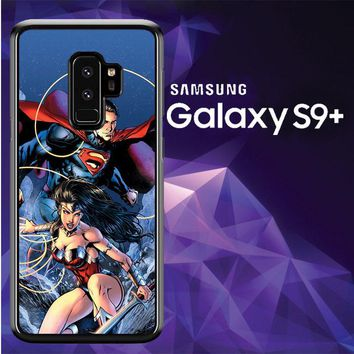 Superman & Wonder Woman Appreciation X0930 Samsung Galaxy S9 Plus Case