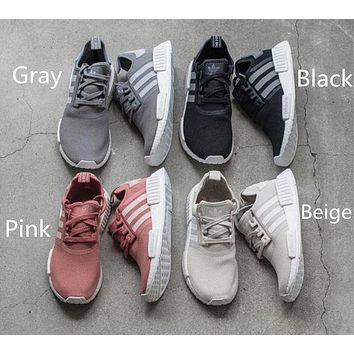 """Adidas"" NMD Trending Women Men Casual Running Sports Shoes Sneakers (6-color) I"
