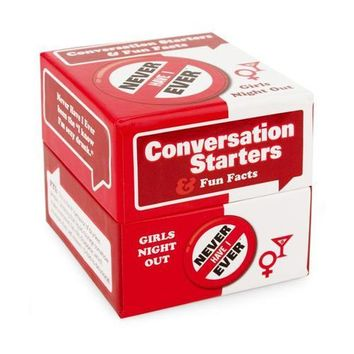 I've Never Conversation Starters-Girls