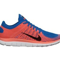Nike Free 4.0 Flyknit Women's Running Shoes - Photo Blue