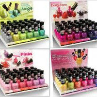 KleanColor Nail Polish Display (Jungle) Set Case Pack 96