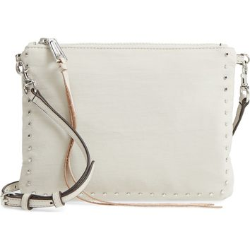 Rebecca Minkoff Jon Studded Nylon Crossbody Bag | Nordstrom