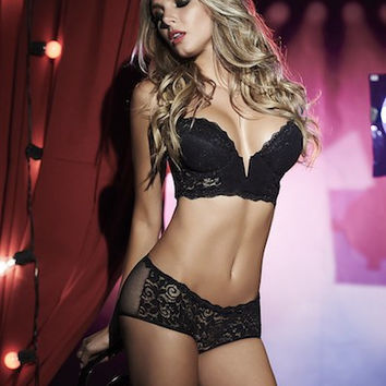Pretty In Lace Bra & Panty Set