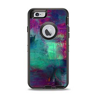 The Abstract Oil Painting V3 Apple iPhone 6 Otterbox Defender Case Skin Set
