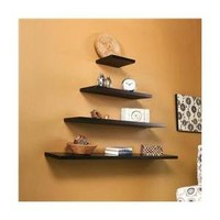 Walmart: Holly & Martin 81-246-029-3-01 Vicksburg Floating Shelf 10''-Black