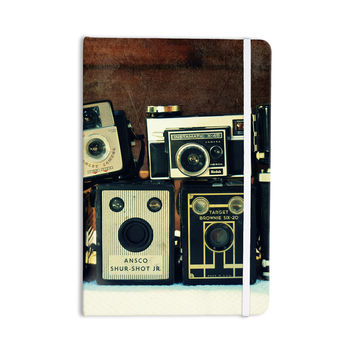 "Robin Dickinson ""Through the Years"" Vintage Camera Everything Notebook"