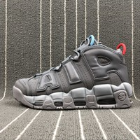 Best Online Sale Nike Air More Uptempo '96 Dark Grey Gris Fonce Sport Shoes Sneaker 921948-701