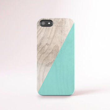 Mint iPhone 6 Case Mint iPhone 6 Plus Case Wood Print Phone Accessories Mint iPhone Case Tiffany Blue Mint Galaxy S5 Case S6 Case Summer