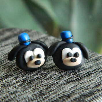 Disney earrings, Goofy earrings, Disney jewelry, Disney, Earrings, Mickey mouse, Disney Cruise, Disney Vacation, Disney Gift, Disney