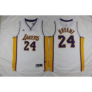 LA Lakers #24 Kobe Bryant Revolution 30 Swingman Jersey