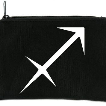 Zodiac Sagittarius Sign Cosmetic Makeup Bag Astrology Horoscope The Archer
