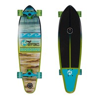 Kryptonics 34-in. Swallow Tail Longboard (Blue)
