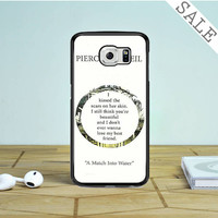 pierce the veil song lyrics Samsung Galaxy S6 Case