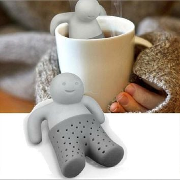 Cute Mr Teapot Silicone Tea Infuser