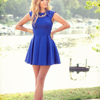 Sleeveless Sheath A-Line Mini Skater Dress